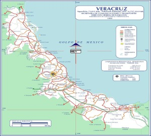 Veracruz State Map 775